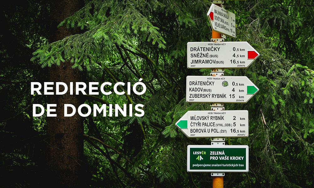 Redirecció de dominis