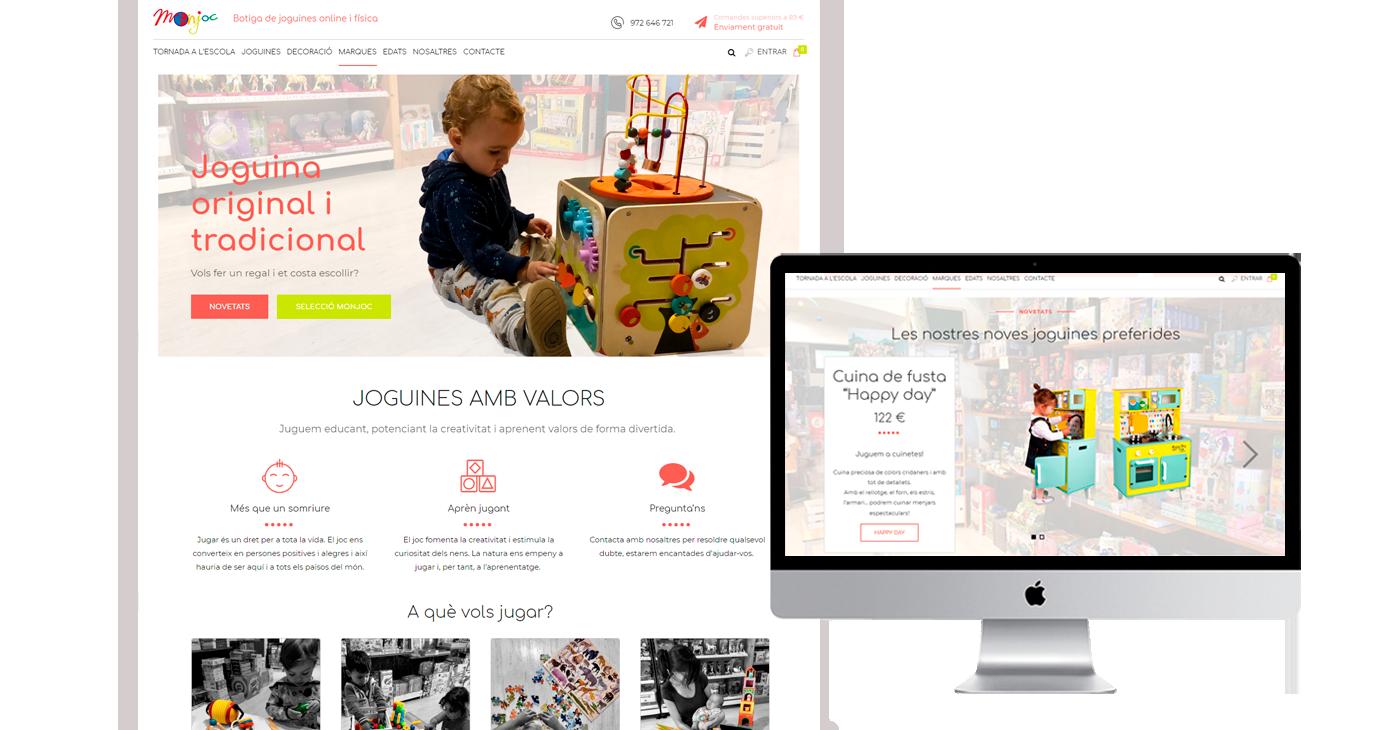 Botiga online de joguines - Monjoc