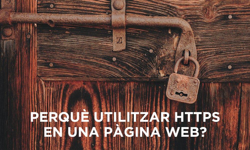 Utilitzar HTTPS