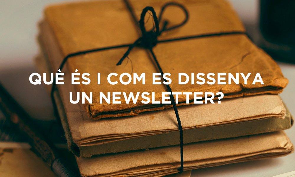 dissenya una newsletter