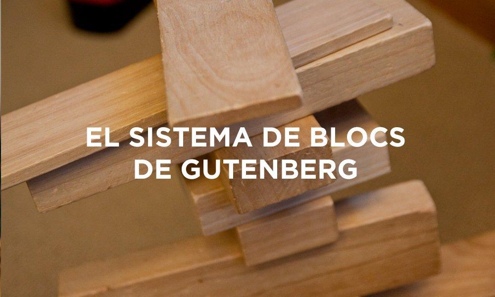 Sistema de blocs Gutenberg