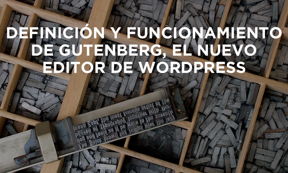 Definición de Gutenberg