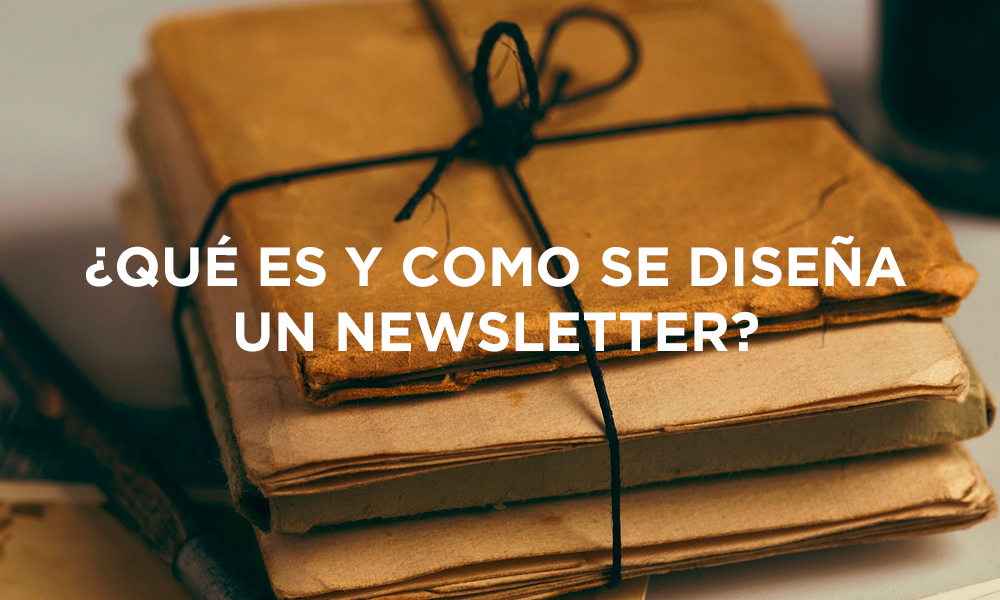 Diseña una newsletter