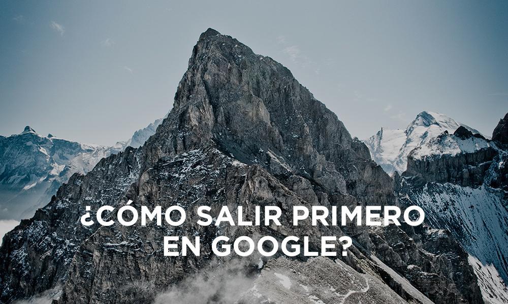 Salir primero en Google